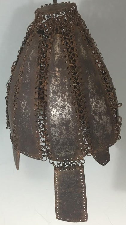18th-19th Century Plate Indian Helmet