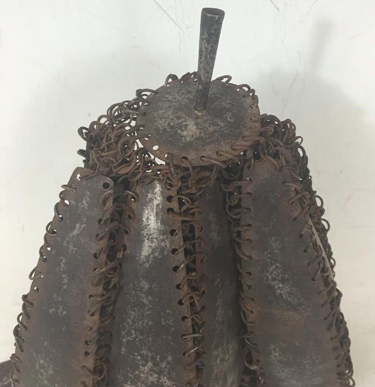18th-19th Century Plate Indian Helmet - 5