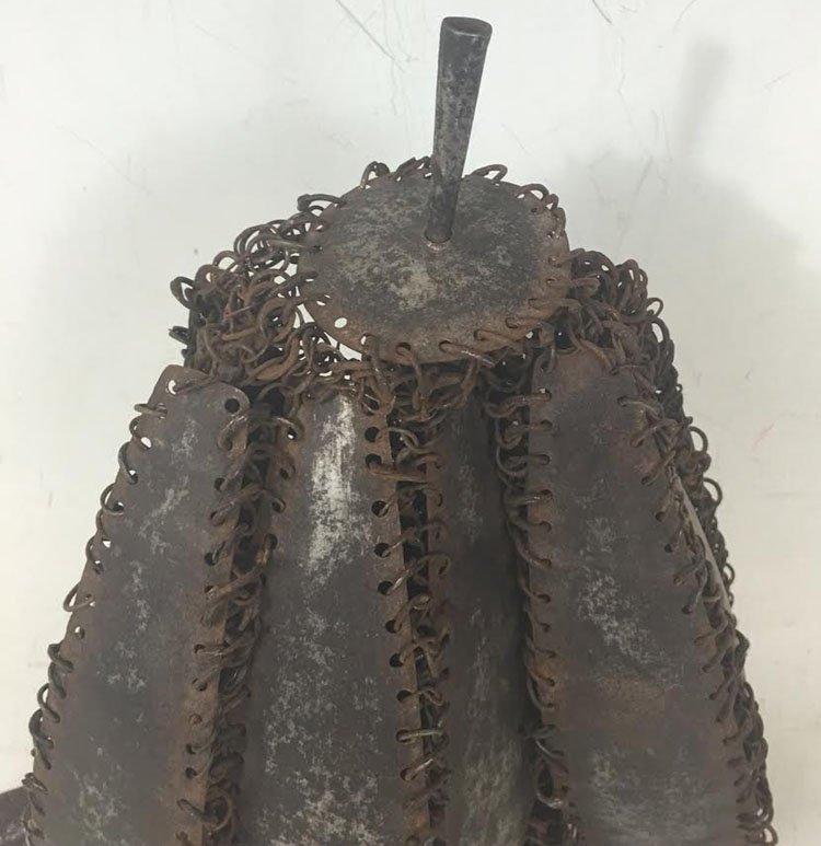 18th-19th Century Plate Indian Helmet - 5