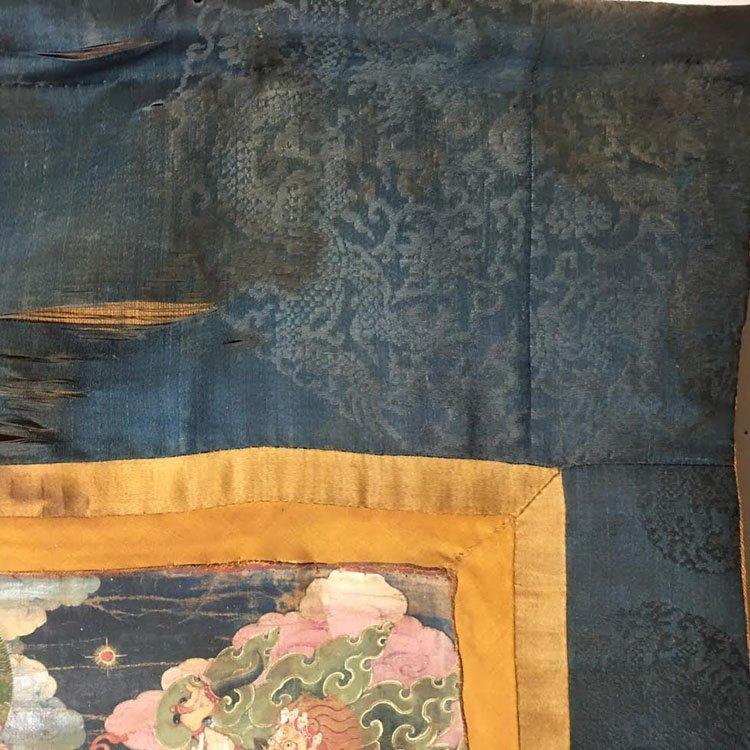 Fine 18th Century Chinese Tibetan Thangka. - 8