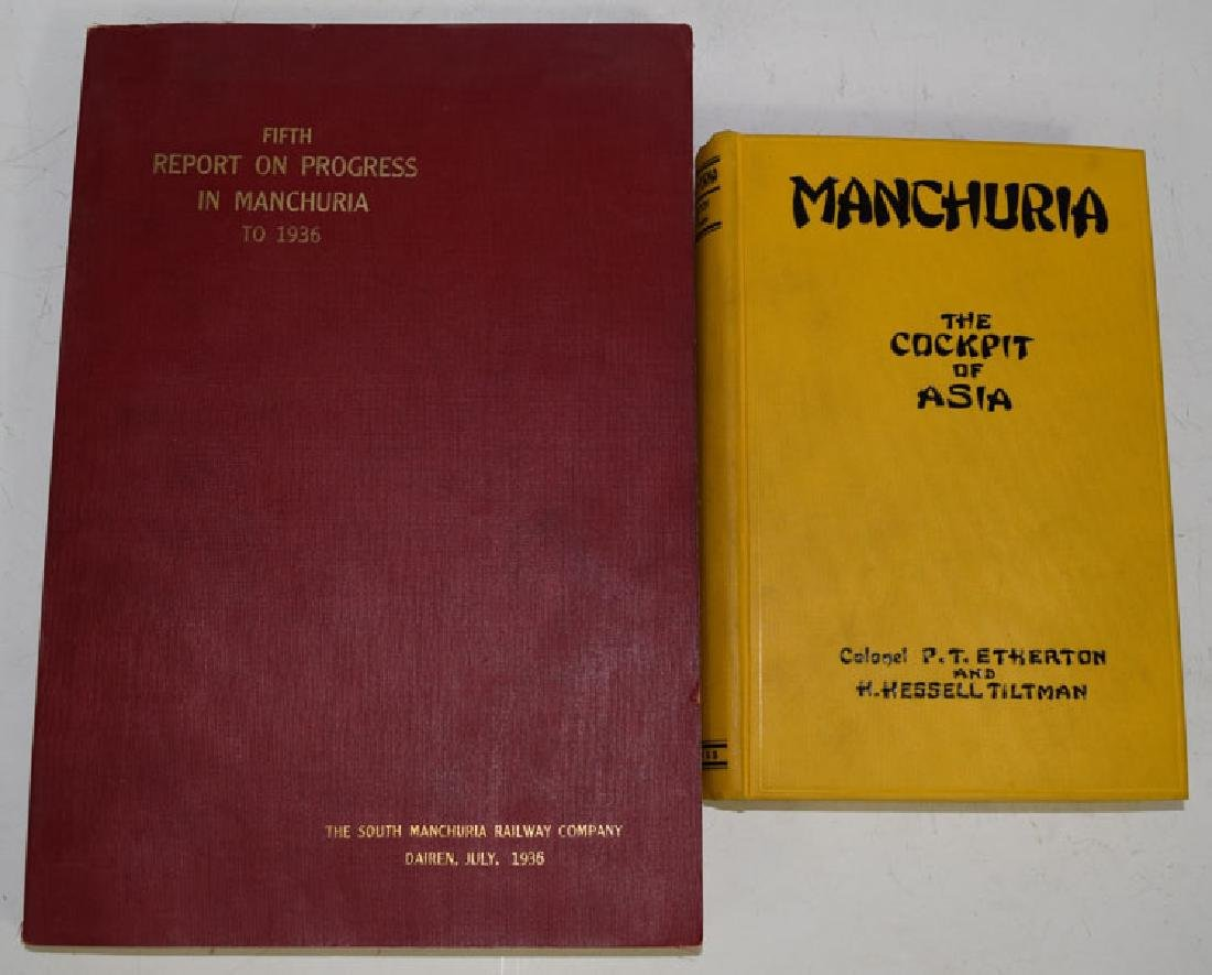 Fifth Report on Progress in Manchuria to 1936 & Manchur