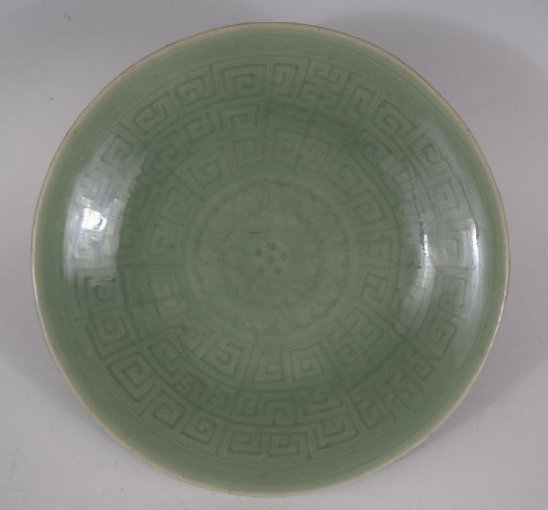 Qianlong Mark, 18th Century Chinese Celadon Glazed