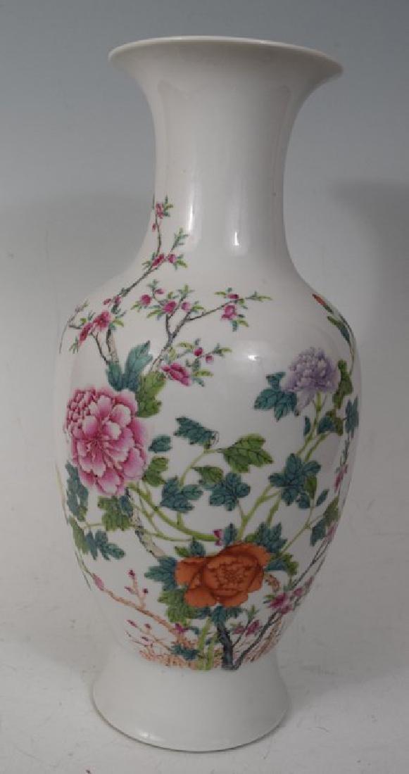 Antique Chinese Porcelain Flower Vase