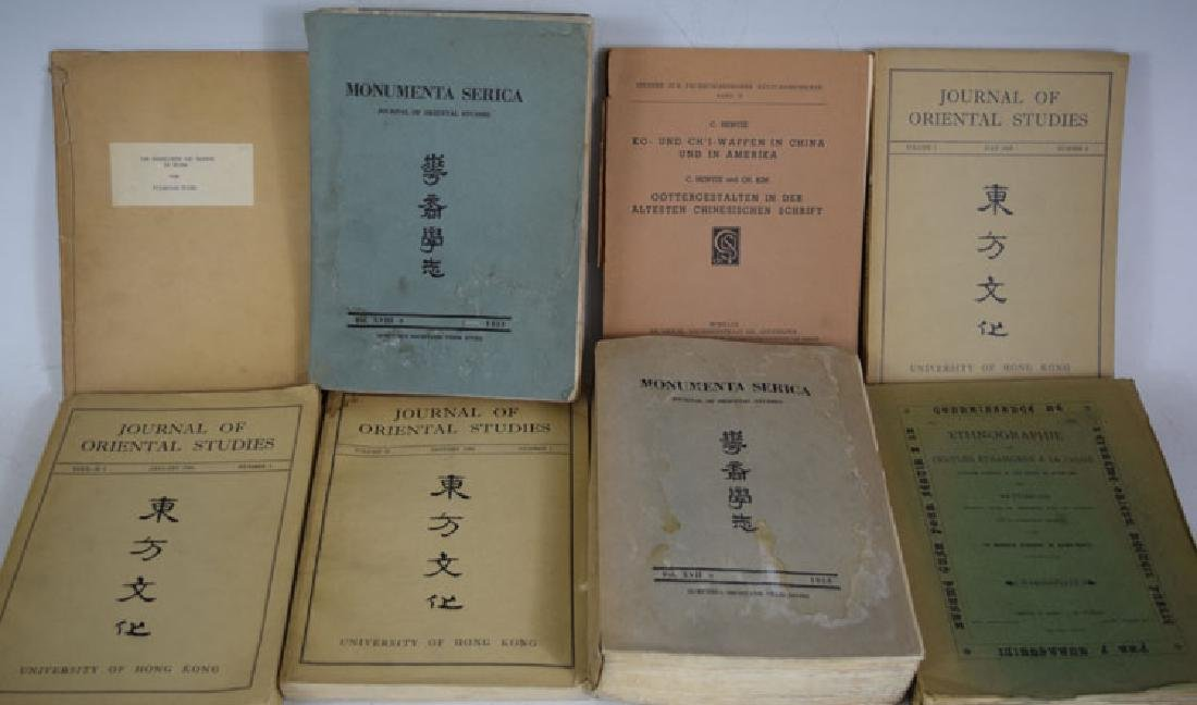 Eight Books and Journals on Asian Art