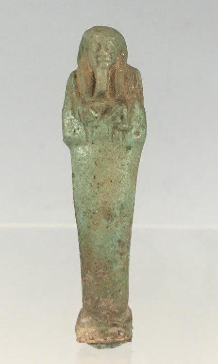 Ancient Egyptian Faience Ushabti