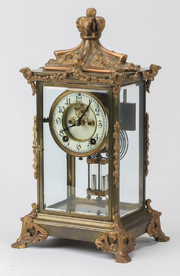 Continental mantel clock, early 20th c.