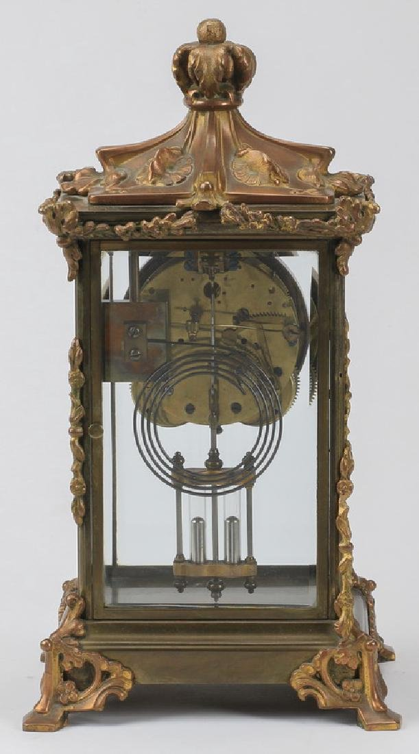 Continental mantel clock, early 20th c. - 3