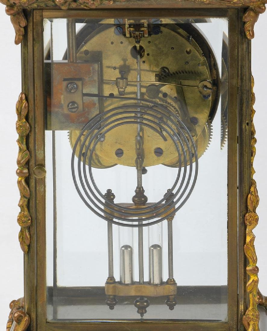 Continental mantel clock, early 20th c. - 4