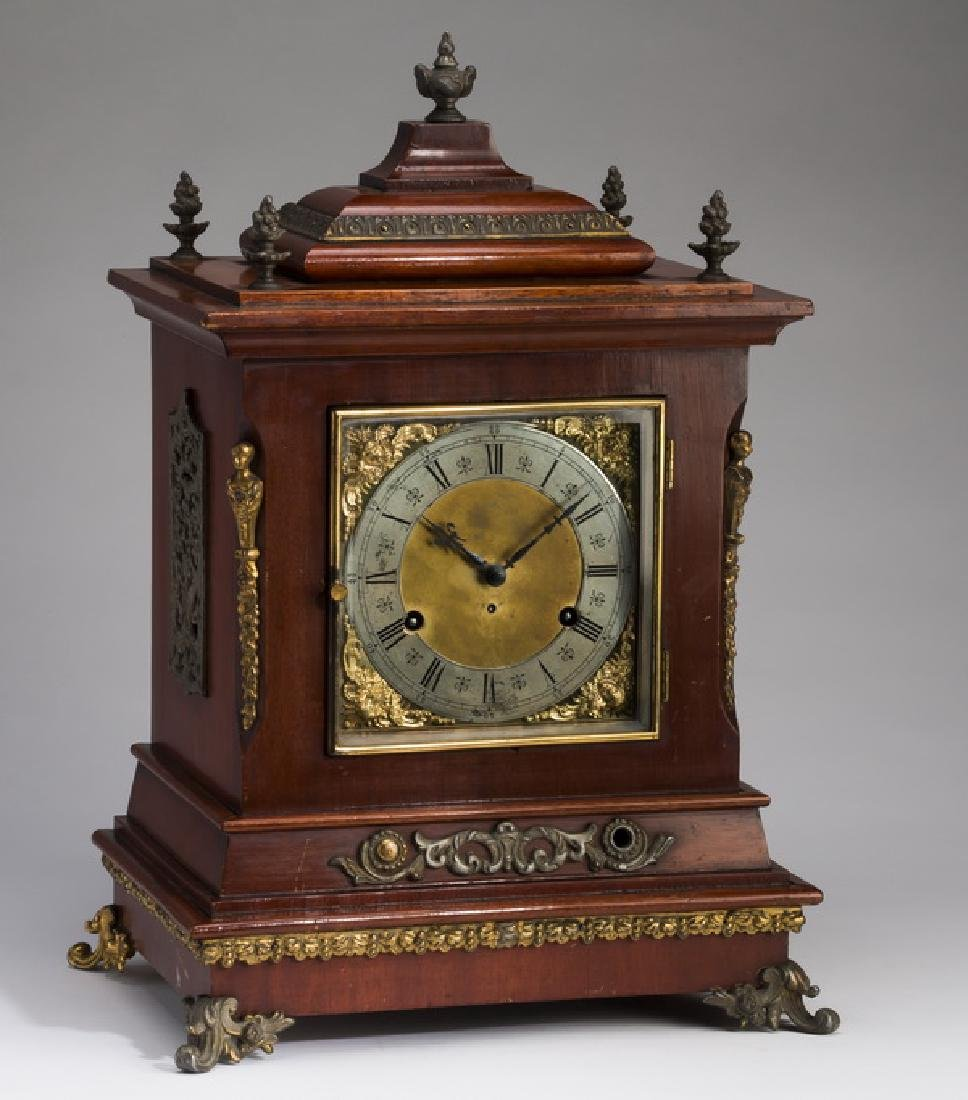 Ca. 1930 New Haven bracket clock, chime no. 3
