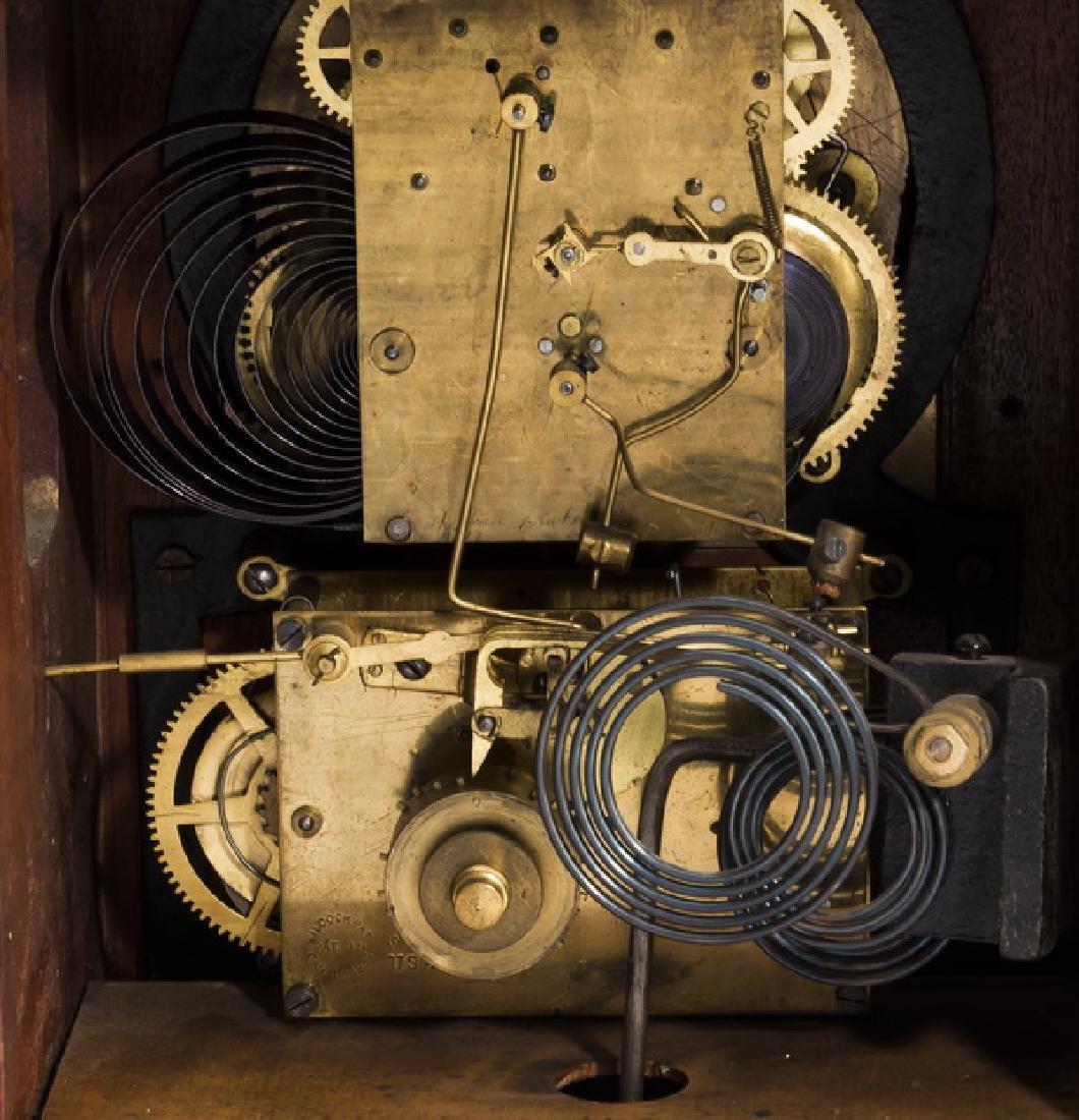Ca. 1930 New Haven bracket clock, chime no. 3 - 4