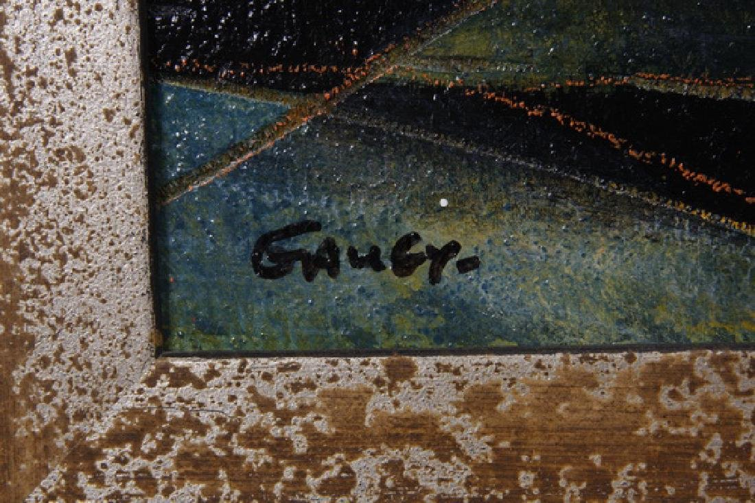Jean-Claude Gaugy (French) acrylic on wood, signed - 3