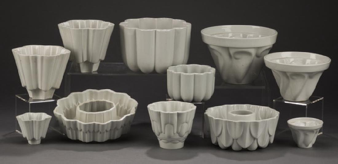 11-Pc. Shelley porcelain jelly molds