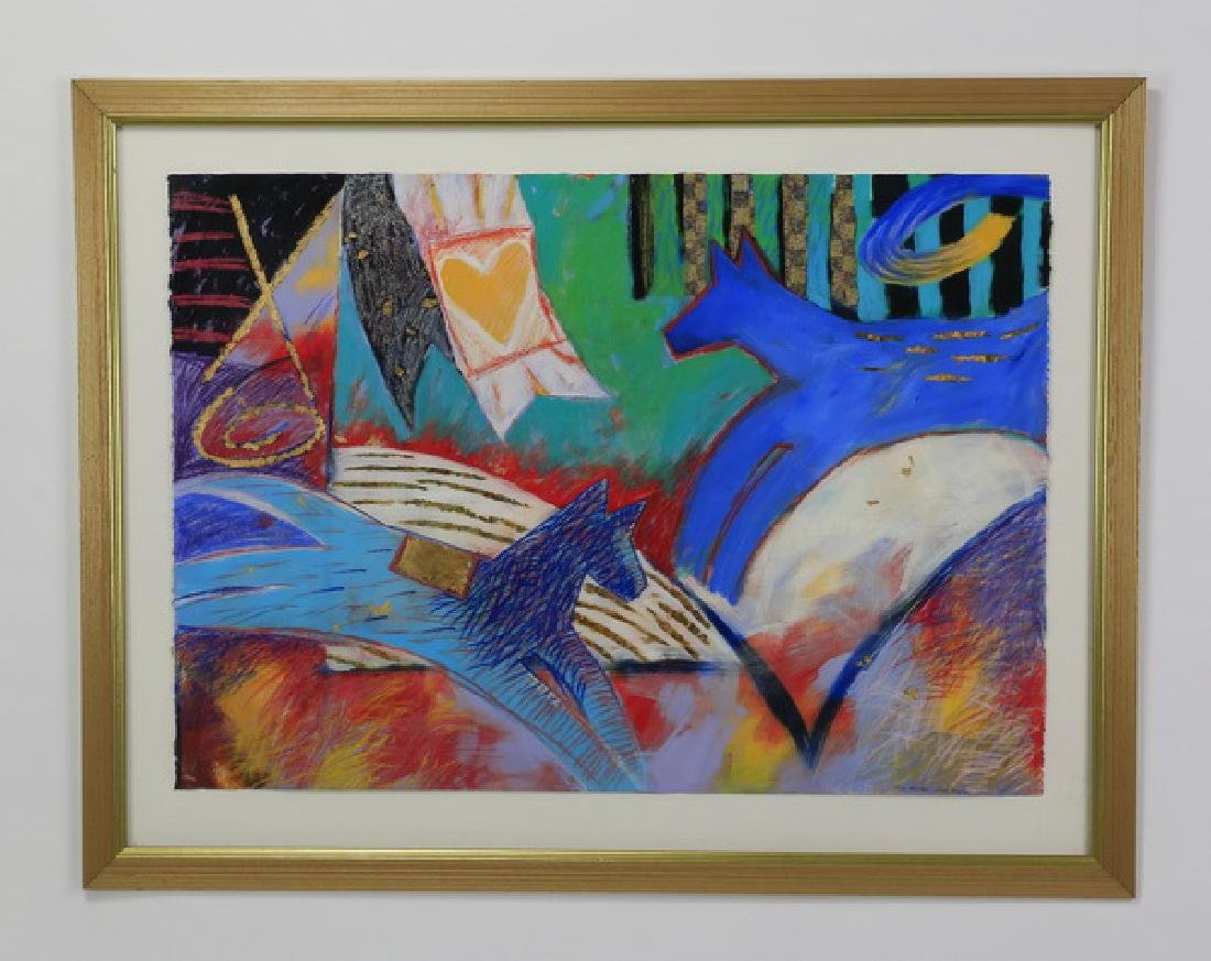 """Cecile Broz 'Circus Animals', signed, 52""""w"""