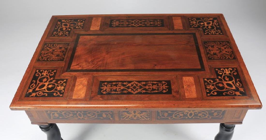 """Marquety inlaid cocktail table, 22""""h - 2"""