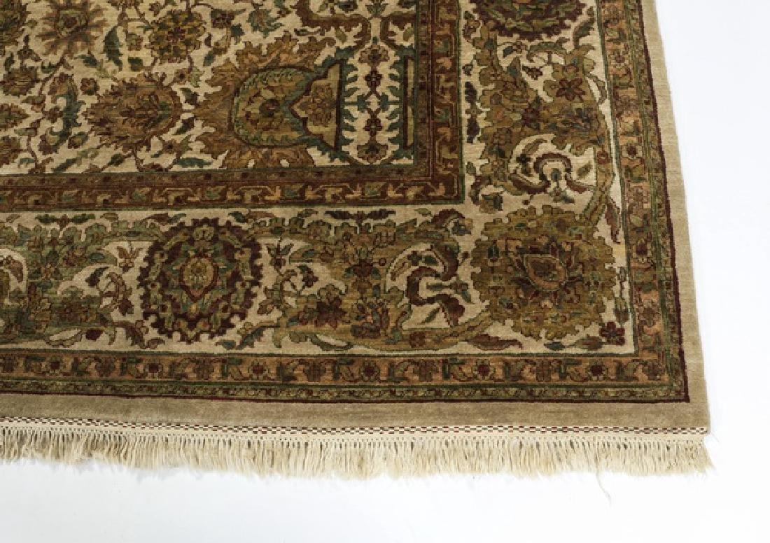 Hand knotted Sino-Tabriz wool rug, 9' x 13 - 2