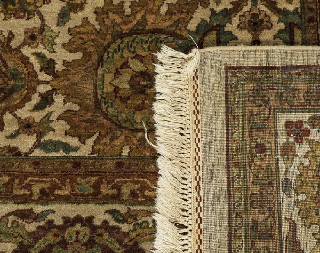Hand knotted Sino-Tabriz wool rug, 9' x 13 - 3