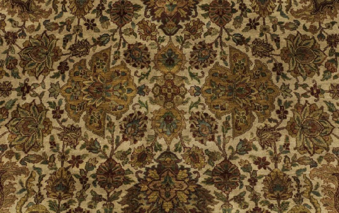 Hand knotted Sino-Tabriz wool rug, 9' x 13 - 4