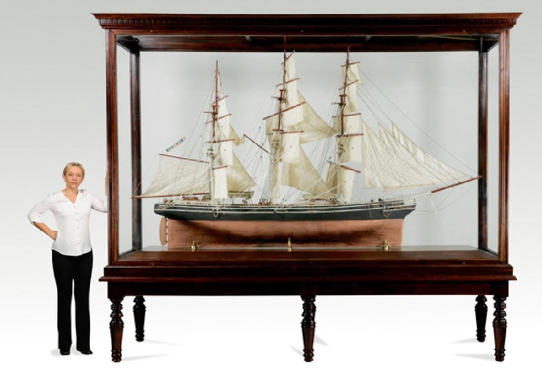 """Monumental model of clipper ship 'Thermopylae', 146""""h"""