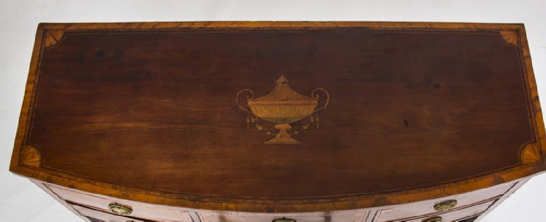 18th c. George III Sheraton style inlaid sideboard - 3