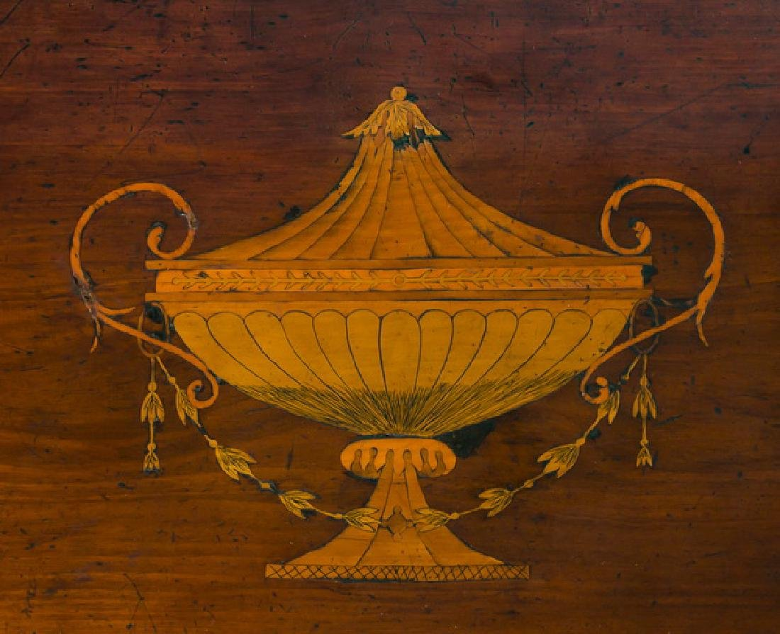 18th c. George III Sheraton style inlaid sideboard - 4