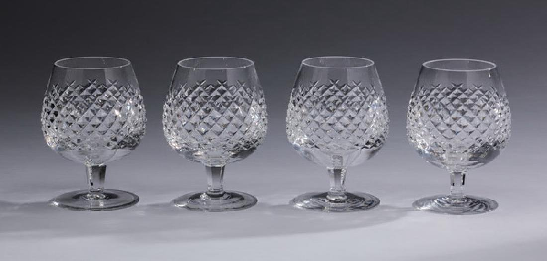 """(8) Waterford crystal 'Alana' brandy snifters, 5""""h - 2"""