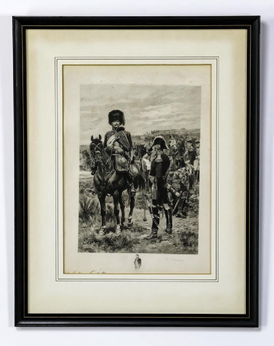 (5) 18th/19th c. Continental military engravings - 10