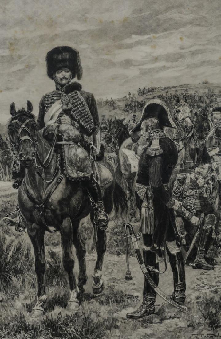 (5) 18th/19th c. Continental military engravings - 11