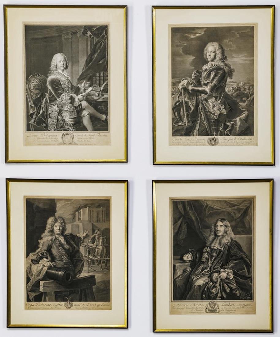 (5) 18th/19th c. Continental military engravings