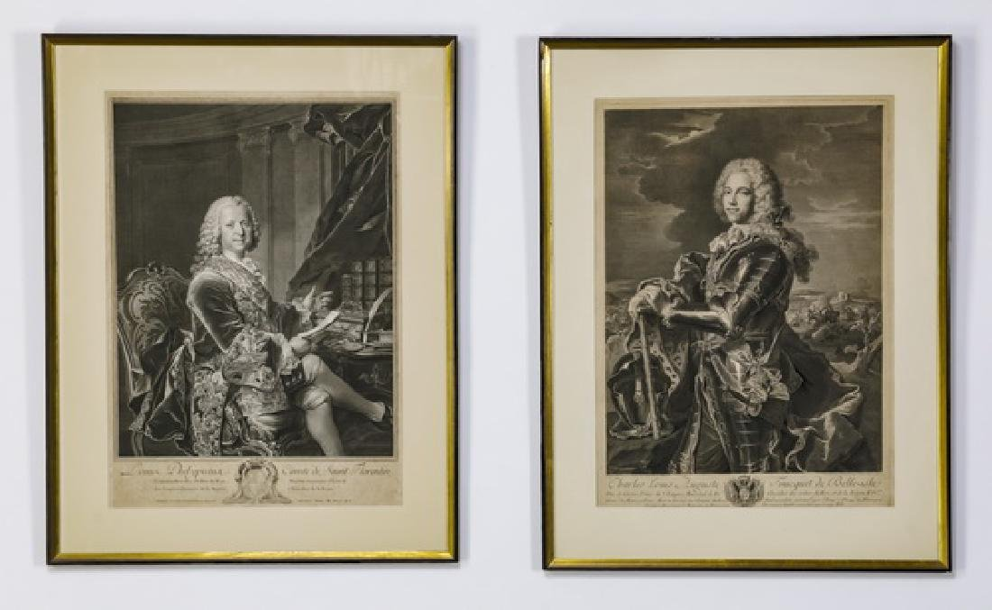 (5) 18th/19th c. Continental military engravings - 2