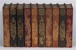 10 Edition Louis XIV volumes of Works of Voltaire