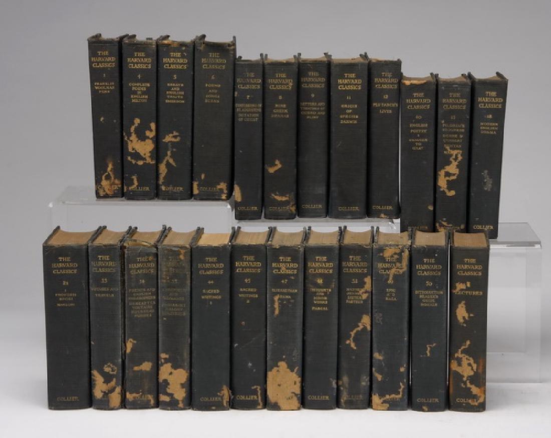 (24) Volume set from The Harvard Classics