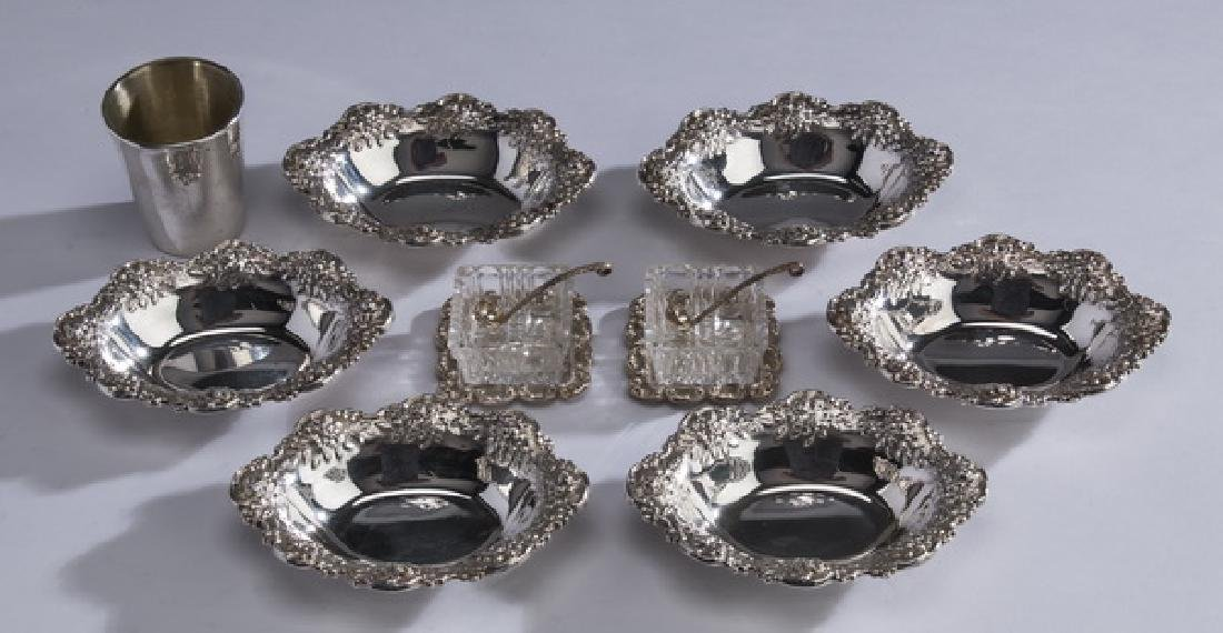 (9) S. Kirk & others sterling silver table articles