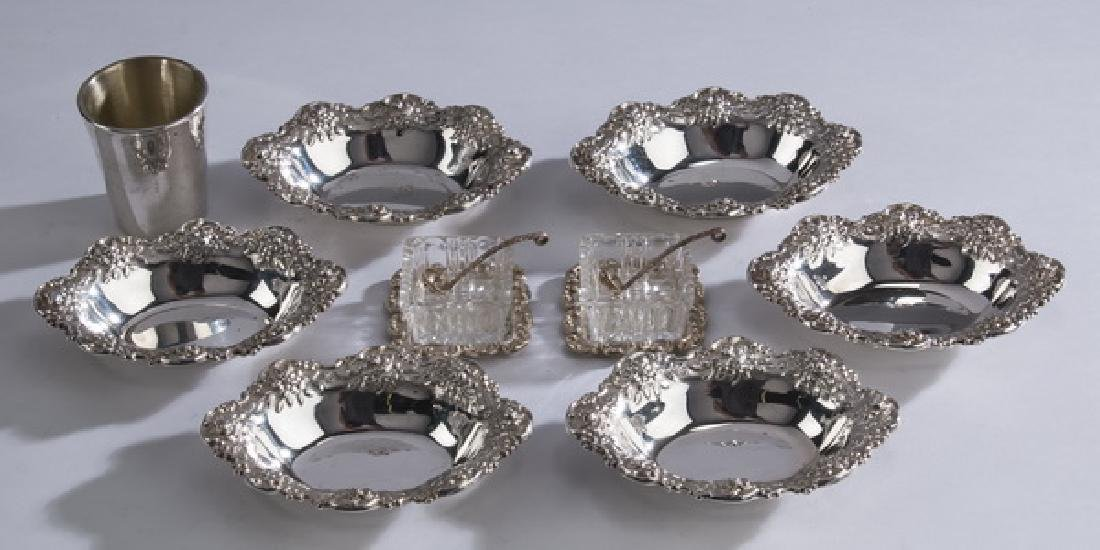 (9) S. Kirk & others sterling silver table articles - 2
