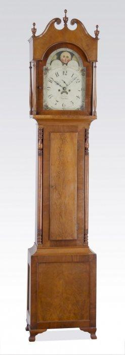 Jonathan Simpson, Kentucky Tall Case Clock, C. 1820