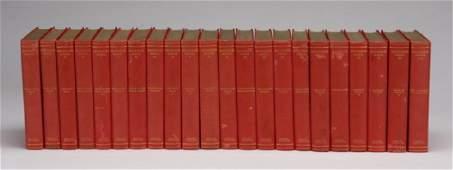 (22) Volume set of works by Hawthorne