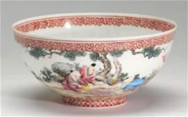 Chinese eggshell porcelain bowl 75w