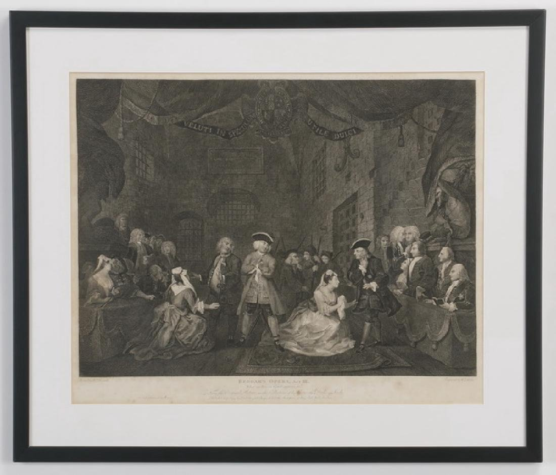 18th c. William Hogarth engraving
