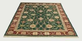 Hand Knotted Wool Carpet, Sultan Abassi Design 10 X 8
