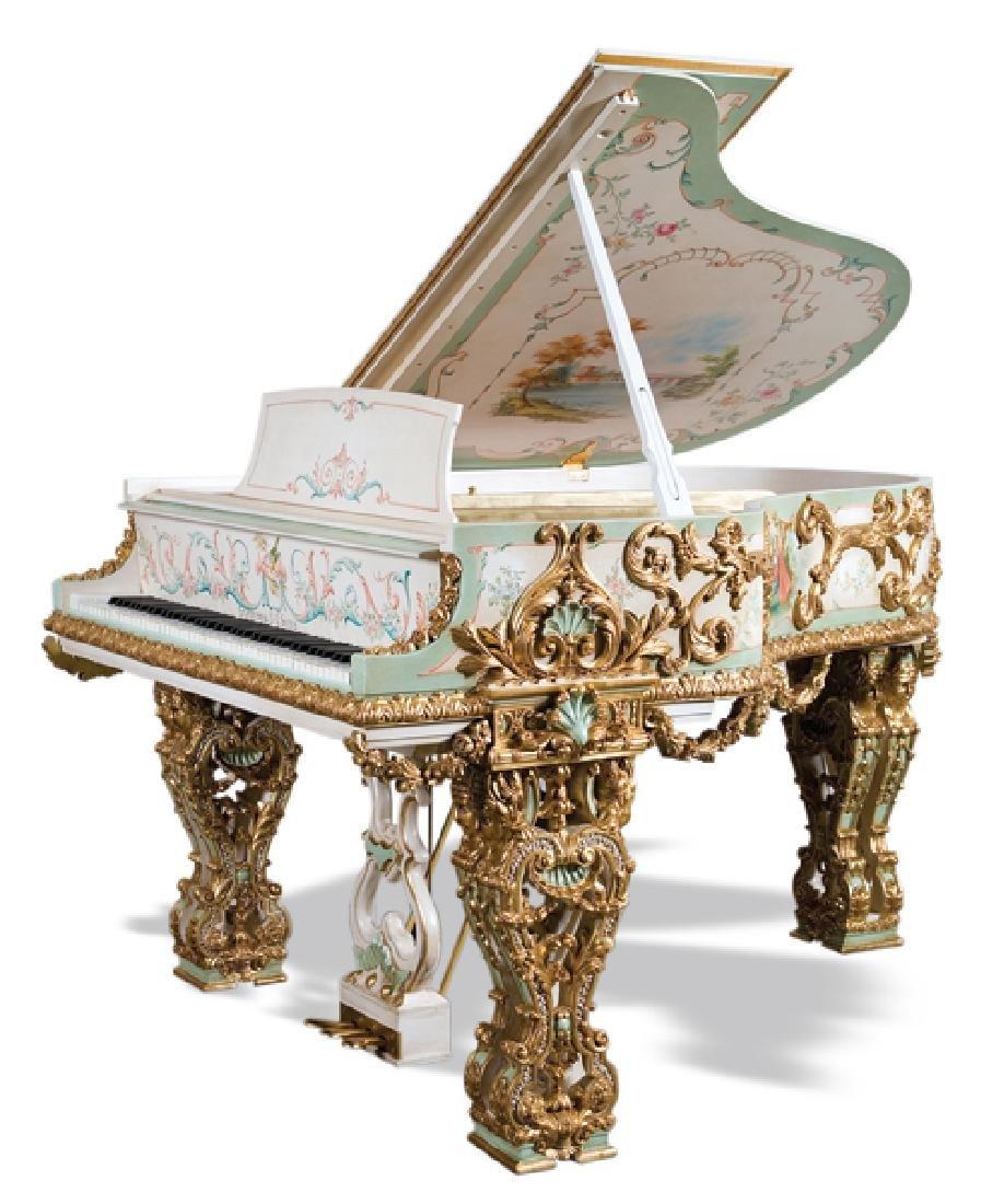 Restored Steinway & Sons extravagant art case piano