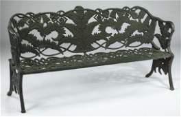 Victorian style cast iron garden bench 70w