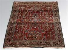 Persian Sarouk wool rug circa 1930s 3 x 5