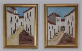 Pair Ocanvasboards of Torremolinos Spain