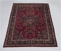 Hand knotted Persian Mashad wool carpet 10 x 13