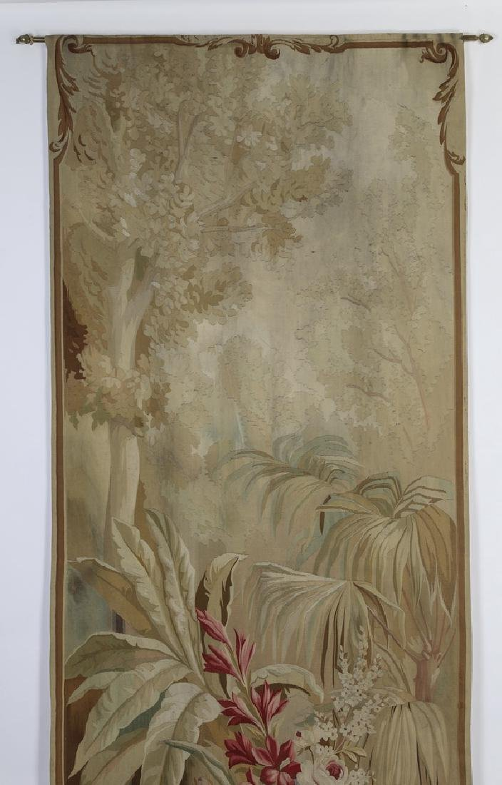 Oversized 19th c. French Aubusson style tapestry - 2