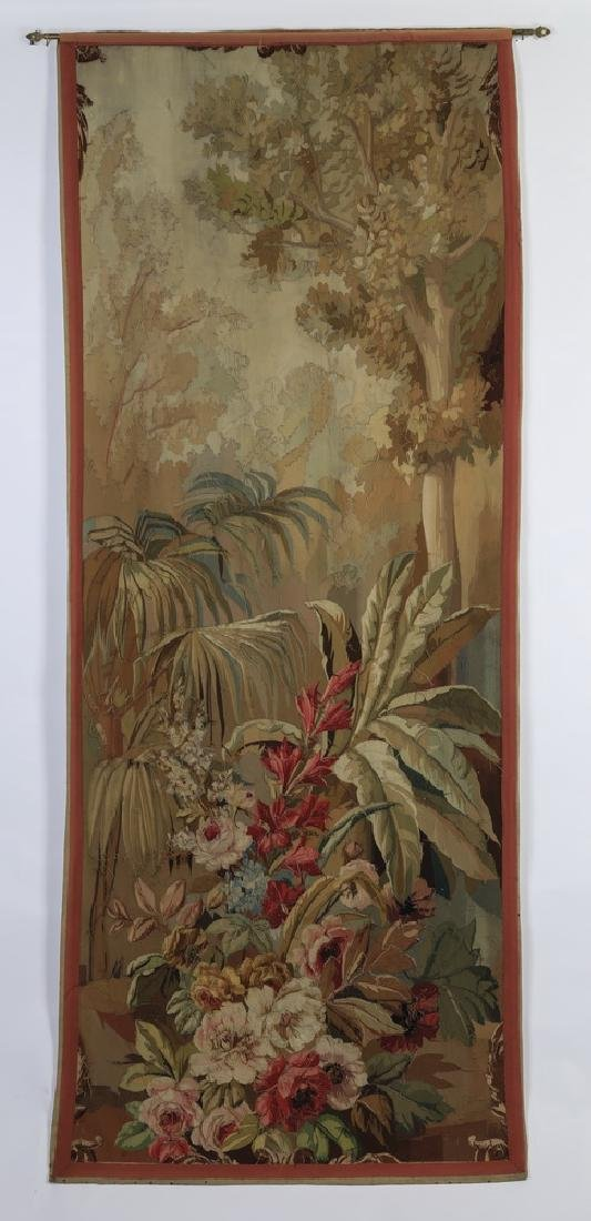 Oversized 19th c. French Aubusson style tapestry - 5