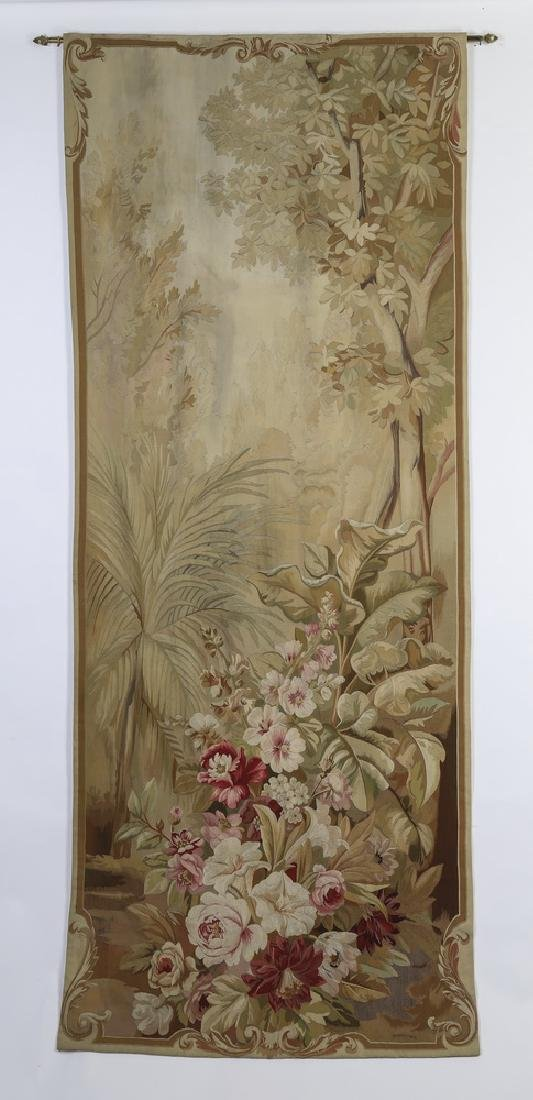 Oversized 19th c. French Aubusson style tapestry