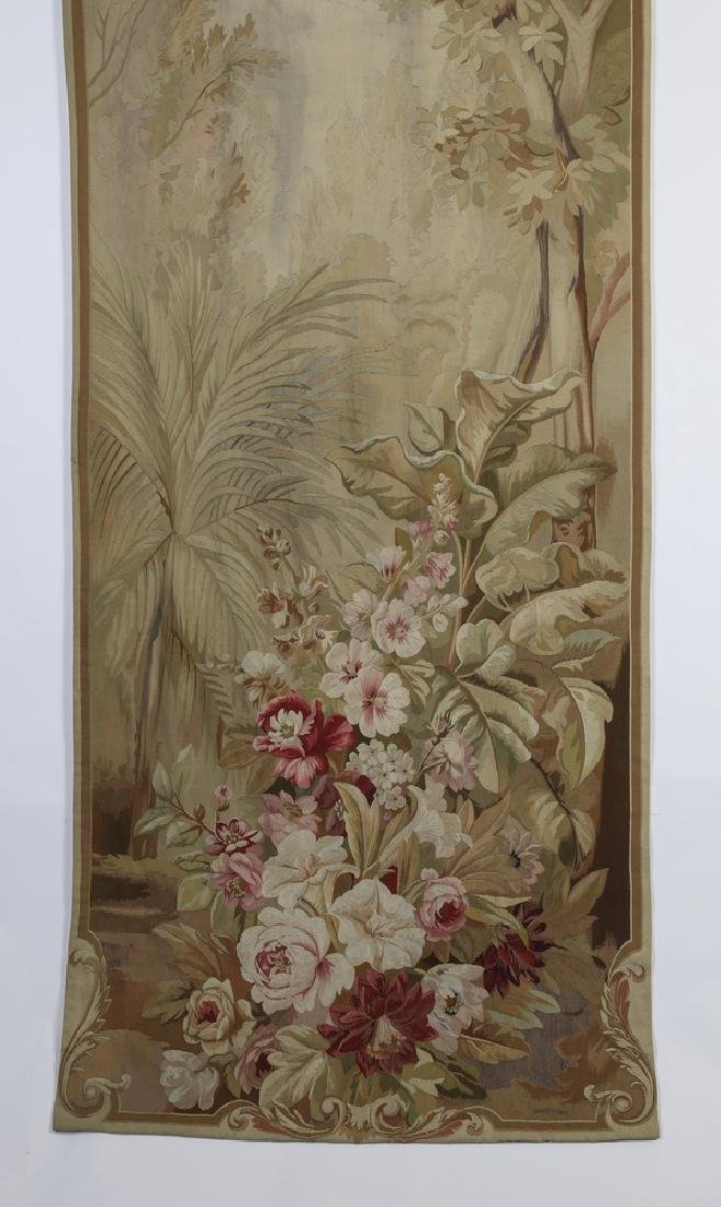 Oversized 19th c. French Aubusson style tapestry - 3
