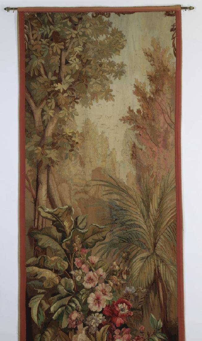Oversized 19th c. French Aubusson style tapestry - 6