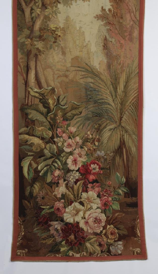 Oversized 19th c. French Aubusson style tapestry - 7