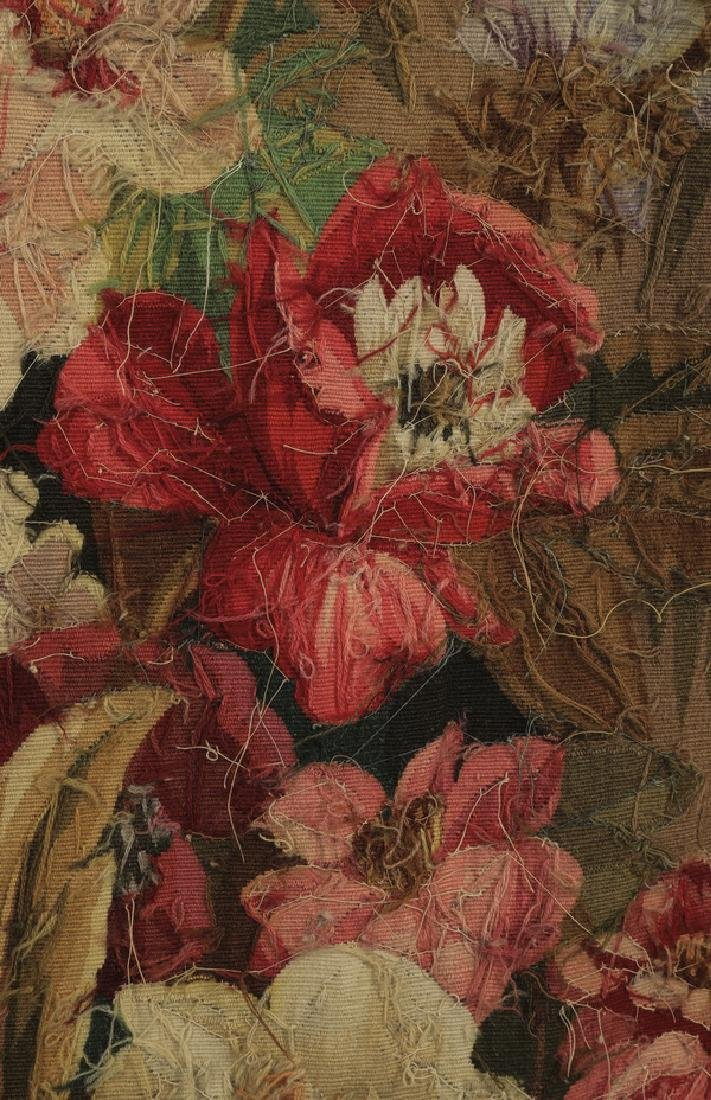 Oversized 19th c. French Aubusson style tapestry - 8